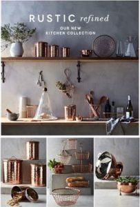 Miedziane dodatki do kuchni