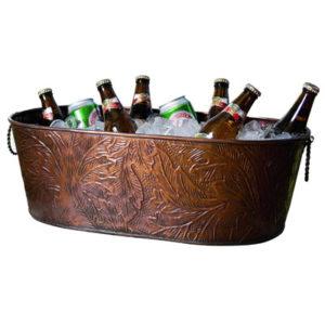 Kubełek zdobiony do chłodzenia alkoholi
