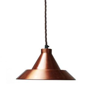 Lampa miedziana do kuchni, salonu