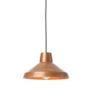 Industrialna lampa miedziana