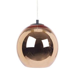 Duża lampa w kształcie kuli