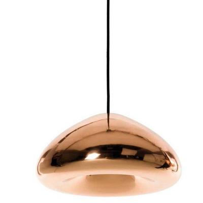 Nowoczesna lampa z miedzi polerowanej Tom Dixon