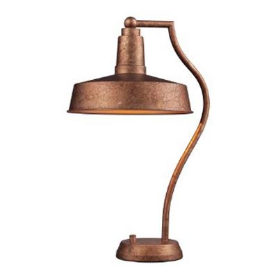 Loftowa lampka na biurko